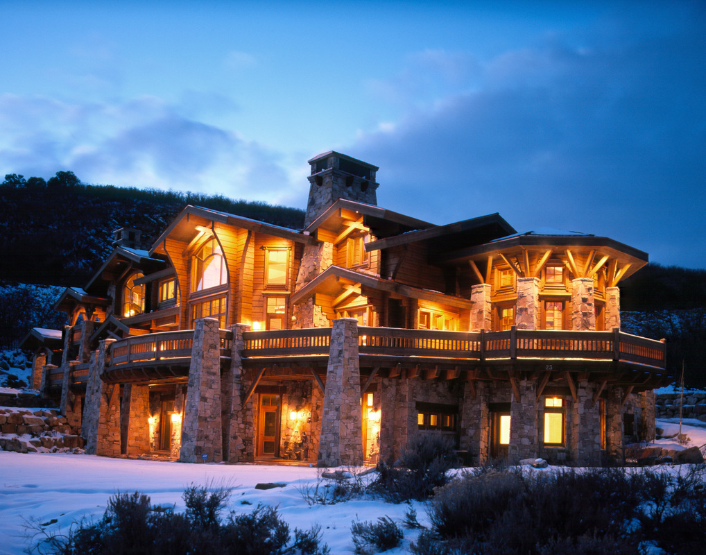 Log Homes on Colorado Mountain Mansions